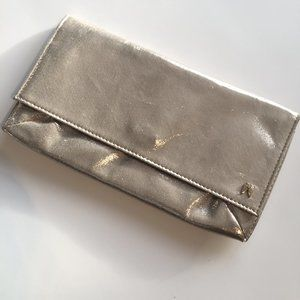 VICTORIA's SECRET Shiny Gold Clutch